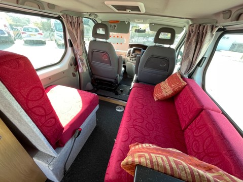 Vauxhall Vivaro 2 Berth camper van with toilet 2