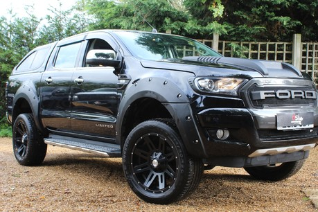 Ford Ranger LIMITED 4X4 DCB TDCI | PLUS VAT | WIDE ARCH