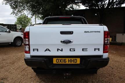 Ford Ranger WILDTRAK 4X4 DCB TDCI | 1 OWNER | TOP SPEC | PLUS VAT 8