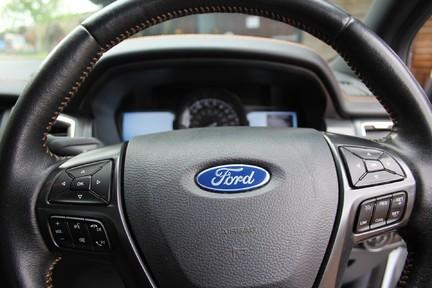 Ford Ranger WILDTRAK 4X4 DCB TDCI | 1 OWNER | TOP SPEC | PLUS VAT 16