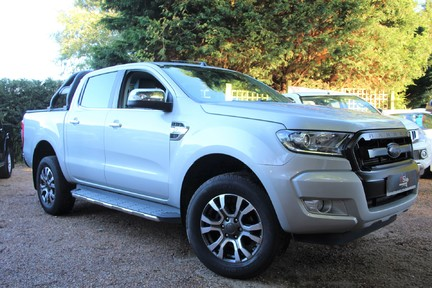 Ford Ranger LIMITED 4X4 DCB TDCI - PLUS VAT - FULL HISTORY - HEATED SEATS 1