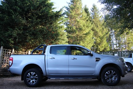 Ford Ranger LIMITED 4X4 DCB TDCI - PLUS VAT - FULL HISTORY - HEATED SEATS 6