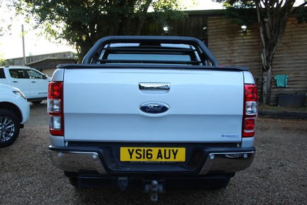Ford Ranger LIMITED 4X4 DCB TDCI - PLUS VAT - FULL HISTORY - HEATED SEATS 8