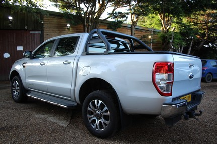 Ford Ranger LIMITED 4X4 DCB TDCI - PLUS VAT - FULL HISTORY - HEATED SEATS 9
