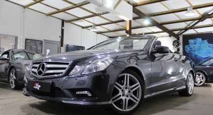 Mercedes-Benz E Class E250 CDI BLUE EFFICIENCY SPORT| 1 OWNER | GREY | SAT NAV 1