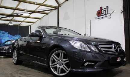 Mercedes-Benz E Class E250 CDI BLUE EFFICIENCY SPORT| 1 OWNER | GREY | SAT NAV 3