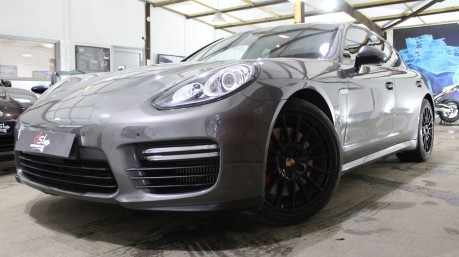 Porsche Panamera V8 TURBO PDK | BIG SPEC | LOW MILES | GREY | BURMEISTER | CHRONO | PASM