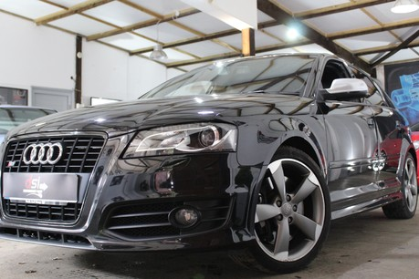 Audi A3 S3 SPORTBACK TFSI QUATTRO BLACK EDITION | LOW MILES | 2 OWNERS