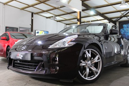 Nissan 370Z V6 GT Pack | SAT NAV | MANUAL | ROSE BLACK | FULL HISTORY 1