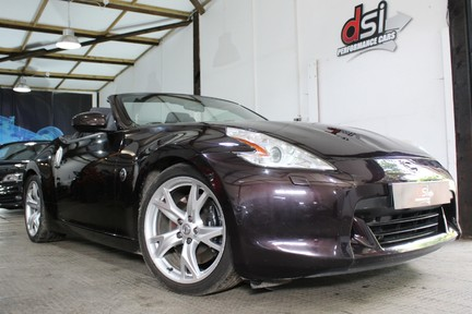 Nissan 370Z V6 GT Pack | SAT NAV | MANUAL | ROSE BLACK | FULL HISTORY 2