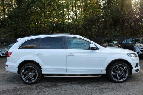 Audi Q7 TDI QUATTRO S LINE PLUS - PAN ROOF -REAR DVDS- KEYLESS-ADAPTIVE CRUISE-BOSE 4