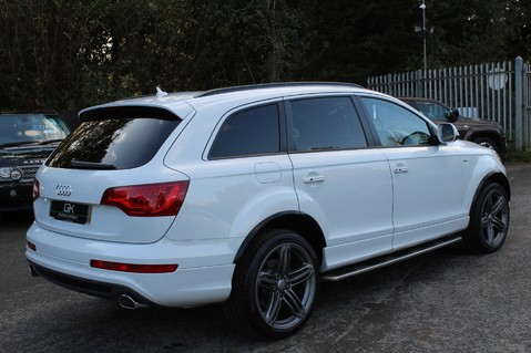 Audi Q7 TDI QUATTRO S LINE PLUS - PAN ROOF -REAR DVDS- KEYLESS-ADAPTIVE CRUISE-BOSE 5