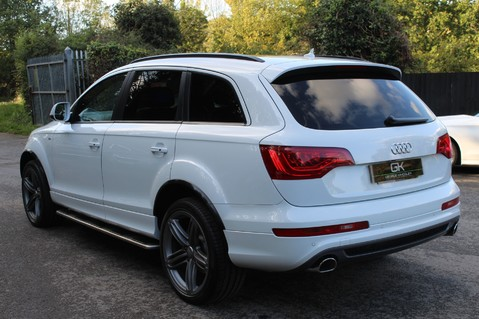 Audi Q7 TDI QUATTRO S LINE PLUS - PAN ROOF -REAR DVDS- KEYLESS-ADAPTIVE CRUISE-BOSE 2