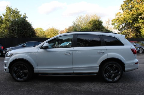 Audi Q7 TDI QUATTRO S LINE PLUS - PAN ROOF -REAR DVDS- KEYLESS-ADAPTIVE CRUISE-BOSE 7