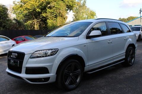 Audi Q7 TDI QUATTRO S LINE PLUS - PAN ROOF -REAR DVDS- KEYLESS-ADAPTIVE CRUISE-BOSE 8