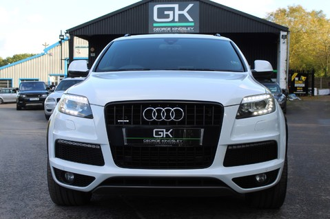 Audi Q7 TDI QUATTRO S LINE PLUS - PAN ROOF -REAR DVDS- KEYLESS-ADAPTIVE CRUISE-BOSE 9