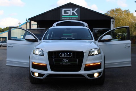 Audi Q7 TDI QUATTRO S LINE PLUS - PAN ROOF -REAR DVDS- KEYLESS-ADAPTIVE CRUISE-BOSE 14
