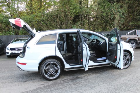 Audi Q7 TDI QUATTRO S LINE PLUS - PAN ROOF -REAR DVDS- KEYLESS-ADAPTIVE CRUISE-BOSE 15