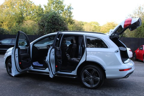 Audi Q7 TDI QUATTRO S LINE PLUS - PAN ROOF -REAR DVDS- KEYLESS-ADAPTIVE CRUISE-BOSE 16