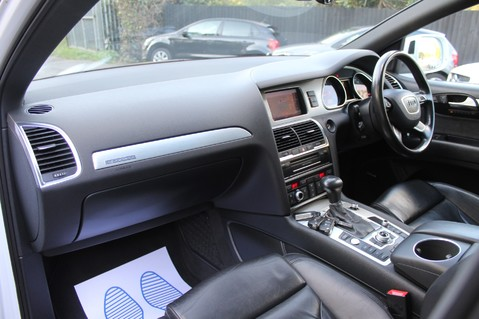 Audi Q7 TDI QUATTRO S LINE PLUS - PAN ROOF -REAR DVDS- KEYLESS-ADAPTIVE CRUISE-BOSE 23