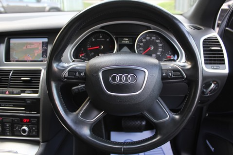 Audi Q7 TDI QUATTRO S LINE PLUS - PAN ROOF -REAR DVDS- KEYLESS-ADAPTIVE CRUISE-BOSE 41