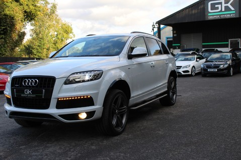 Audi Q7 TDI QUATTRO S LINE PLUS - PAN ROOF -REAR DVDS- KEYLESS-ADAPTIVE CRUISE-BOSE 77