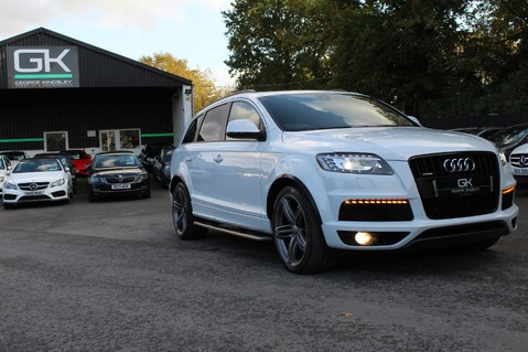 Audi Q7 TDI QUATTRO S LINE PLUS - PAN ROOF -REAR DVDS- KEYLESS-ADAPTIVE CRUISE-BOSE 78