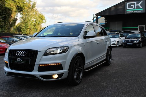 Audi Q7 TDI QUATTRO S LINE PLUS - PAN ROOF -REAR DVDS- KEYLESS-ADAPTIVE CRUISE-BOSE 79