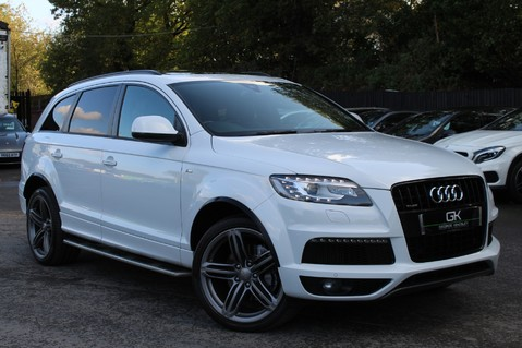 Audi Q7 TDI QUATTRO S LINE PLUS - PAN ROOF -REAR DVDS- KEYLESS-ADAPTIVE CRUISE-BOSE 1