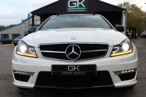 Mercedes-Benz C Class C63 AMG - PERFORMANCE PACKAGE- CARBON- MEDIA-16K FACTORY OPTIONS -LSD-FMBSH 22