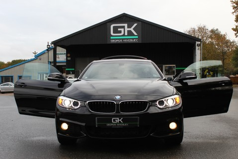 BMW 4 Series 420D XDRIVE M SPORT - 7K EXTRAS - SPECIAL COLOUR OPTIONS- HARMAN/KARDON 15