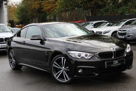 BMW 4 Series 420D XDRIVE M SPORT - 7K EXTRAS - SPECIAL COLOUR OPTIONS- HARMAN/KARDON 1
