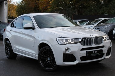 BMW X4 XDRIVE30D M SPORT - EURO 6 - 20 INCH ALLOYS - IVORY LEATHER