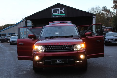 Land Rover Range Rover Sport OVERFINCH TDV6 HSE - BODY KIT- 22 INCH ALLOYS - HEATED STEERING WHEEL 13