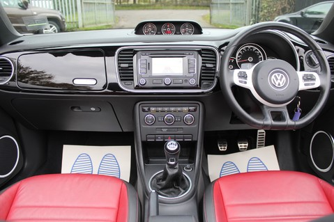 Volkswagen Beetle 60S EDITION - SAT NAV - DAB - RED/BLACK LEATHER - DEMO +1 OWNER FROM NEW 10