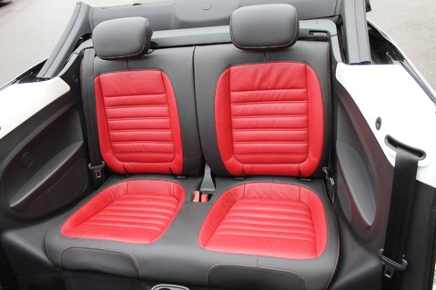 Volkswagen Beetle 60S EDITION - SAT NAV - DAB - RED/BLACK LEATHER - DEMO +1 OWNER FROM NEW 12