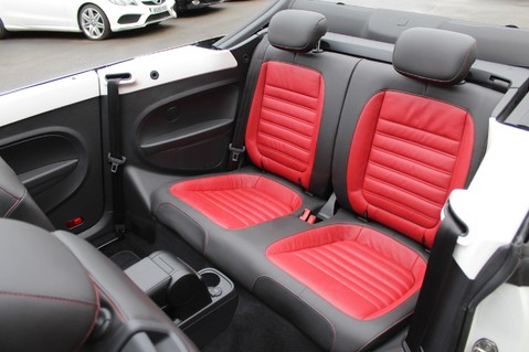 Volkswagen Beetle 60S EDITION - SAT NAV - DAB - RED/BLACK LEATHER - DEMO +1 OWNER FROM NEW 39
