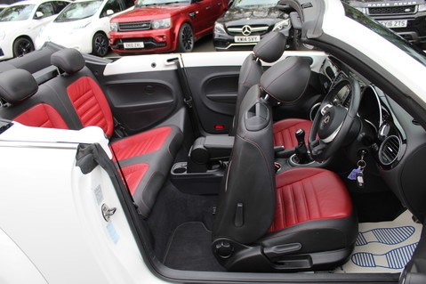 Volkswagen Beetle 60S EDITION - SAT NAV - DAB - RED/BLACK LEATHER - DEMO +1 OWNER FROM NEW 42