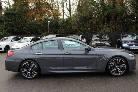 BMW 6 Series M6 GRAN COUPE - COMPETITION PK- B+O ADVANCED- KEYLESS- SURROUND CAMERAS 4