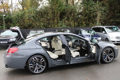 BMW 6 Series M6 GRAN COUPE - COMPETITION PK- B+O ADVANCED- KEYLESS- SURROUND CAMERAS 15