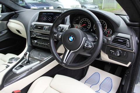 BMW 6 Series M6 GRAN COUPE - COMPETITION PK- B+O ADVANCED- KEYLESS- SURROUND CAMERAS 55