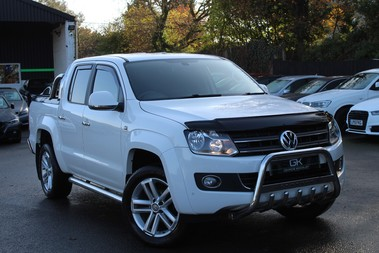 Volkswagen Amarok BiTDI 180 HIGHLINE 4MOTION DOUBLE CAB- SATNAV-LEATHER-CHROME BARS