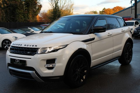 Land Rover Range Rover Evoque SD4 DYNAMIC - PANORAMIC ROOF -MEMORY SEATS - SAT NAV- DAB- BLUETOOTH- FLRSH 8