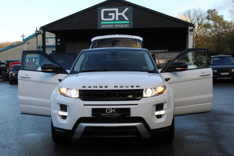 Land Rover Range Rover Evoque SD4 DYNAMIC - PANORAMIC ROOF -MEMORY SEATS - SAT NAV- DAB- BLUETOOTH- FLRSH 13
