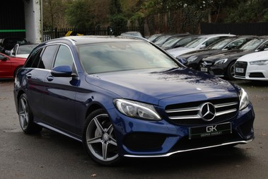 Mercedes-Benz C Class C220 D AMG LINE PREMIUM -EURO 6 - PAN ROOF - REVERSE CAMERA -ONE OWNER