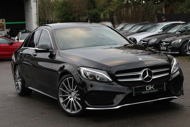 Mercedes-Benz C Class C250 BLUETEC AMG LINE PREMIUM PLUS - EURO 6 - 19 INCH ALLOYS - PAN ROOF