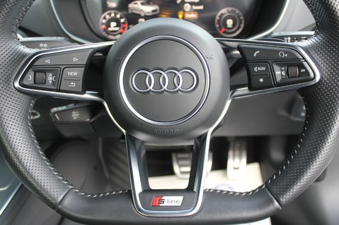 Audi TT TFSI QUATTRO S LINE S-TRONIC 230PS - VIRTUAL COCKPIT - APPLE CAR PLAY 37