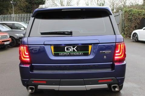 Land Rover Range Rover Sport TDV6 HSE - AUTOBIOGRAPHY BODYKIT - KAHN WHEELS - RARE BALI BLUE 6