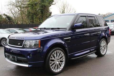 Land Rover Range Rover Sport TDV6 HSE - AUTOBIOGRAPHY BODYKIT - KAHN WHEELS - RARE BALI BLUE 8