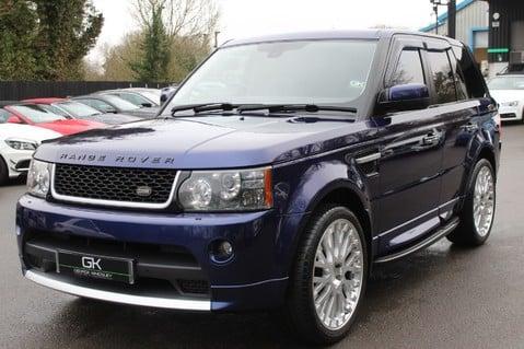 Land Rover Range Rover Sport TDV6 HSE - AUTOBIOGRAPHY BODYKIT - KAHN WHEELS - RARE BALI BLUE 9